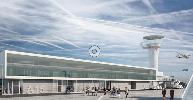Illustration de l'article Aéroport de Bordeaux : chantier d'agrandissement