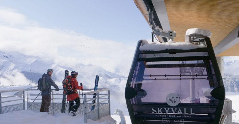 Illustration de l'article Peyragudes : au pied des pistes avec le Skyvall