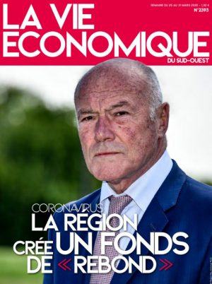 Couverture du journal du 25/03/2020