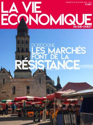 Couverture du journal du 22/04/2020