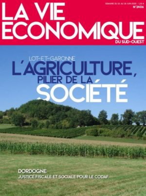 Couverture du journal du 24/06/2020