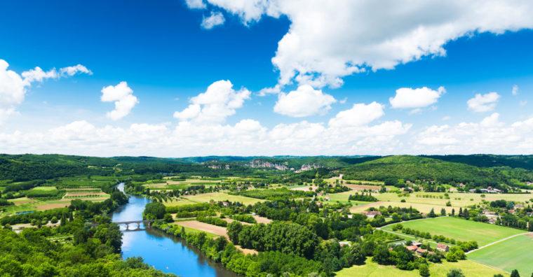 Illustration de l'article Des moyens pour la rivière Dordogne