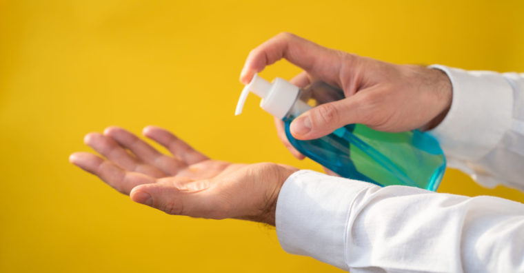 Illustration de l'article Le gel hydroalcoolique fait à Agen