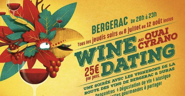 Illustration de l'article [ Dordogne ] Wine Dating estival sur les quais de Bergerac